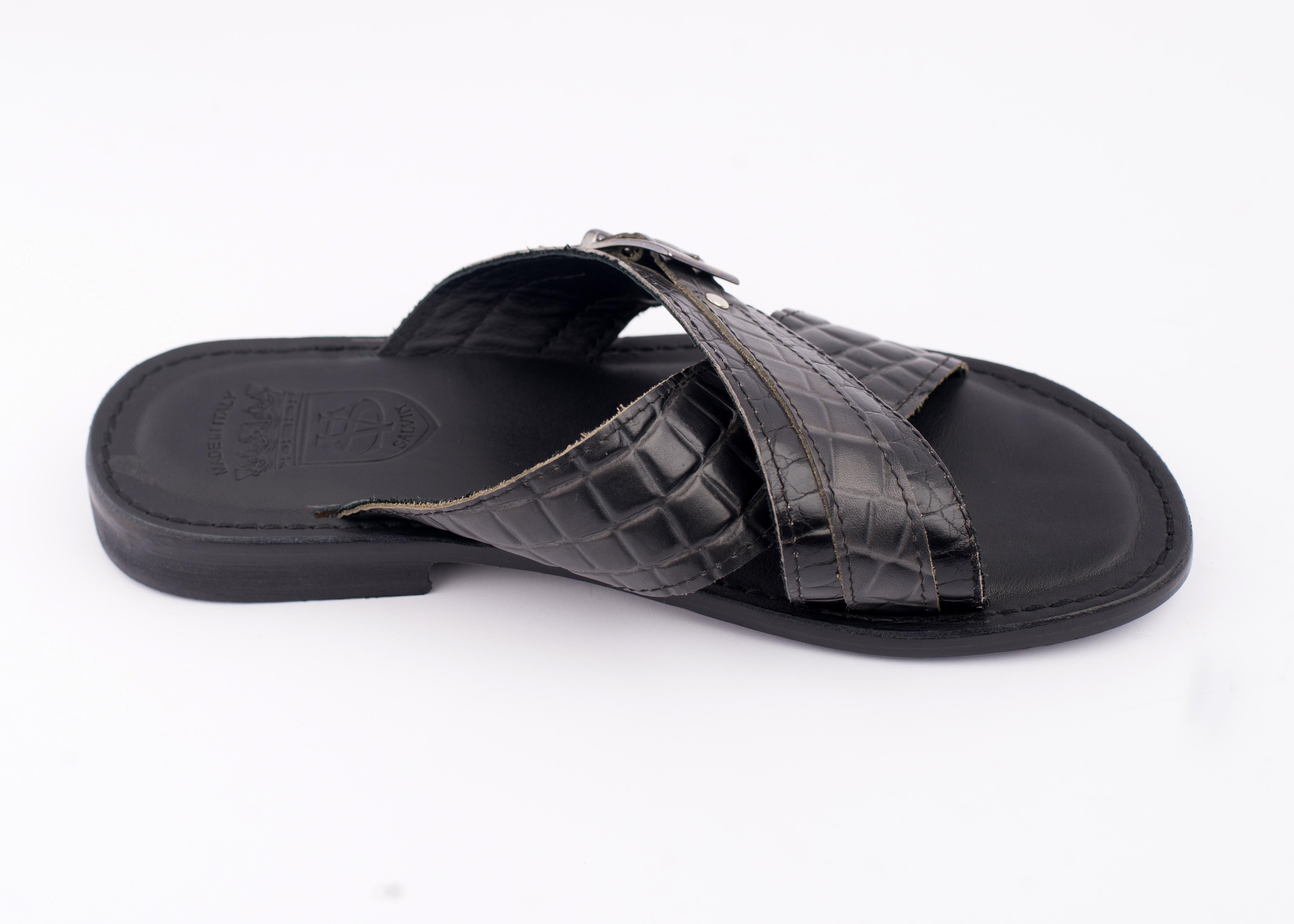 def4a6790a9 SALVIN PALM SLIPPERS. – Greno Fashion World